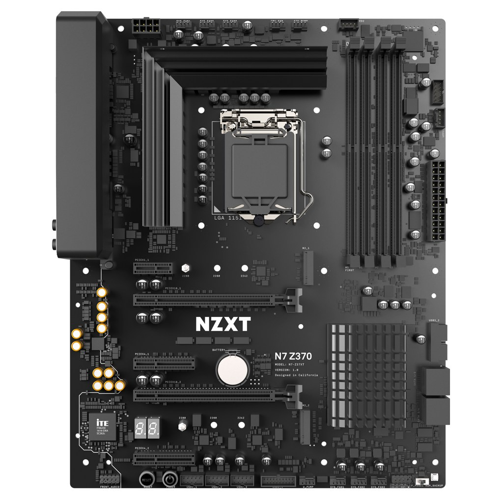 NZXT Motherboard Is Both Stylish and Functional, Check Out the Specs!