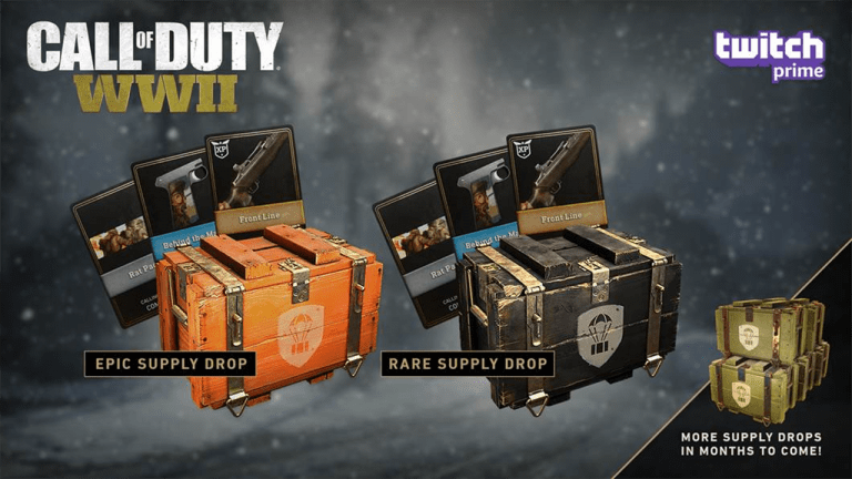cod ww2 winter bribe pc, Call of Duty: WWII Winter Bribe PC Issues Acknowledged by Sledgehammer, January Twitch Prime to Be Supply Drops, MP1st, MP1st