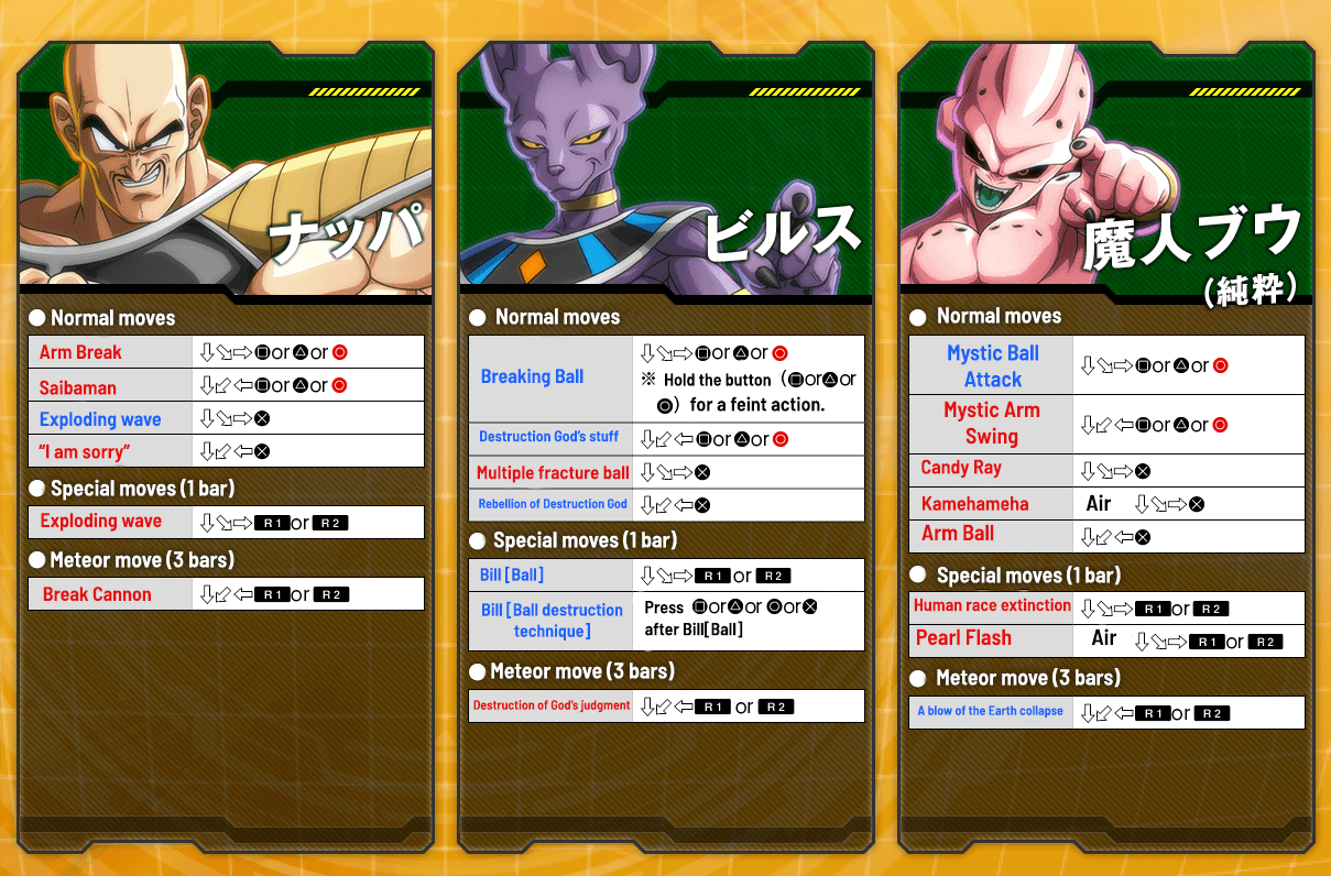 Full Dragon Ball FighterZ Move List for Beta Characters Revealed, Beta Client Now Available for Download