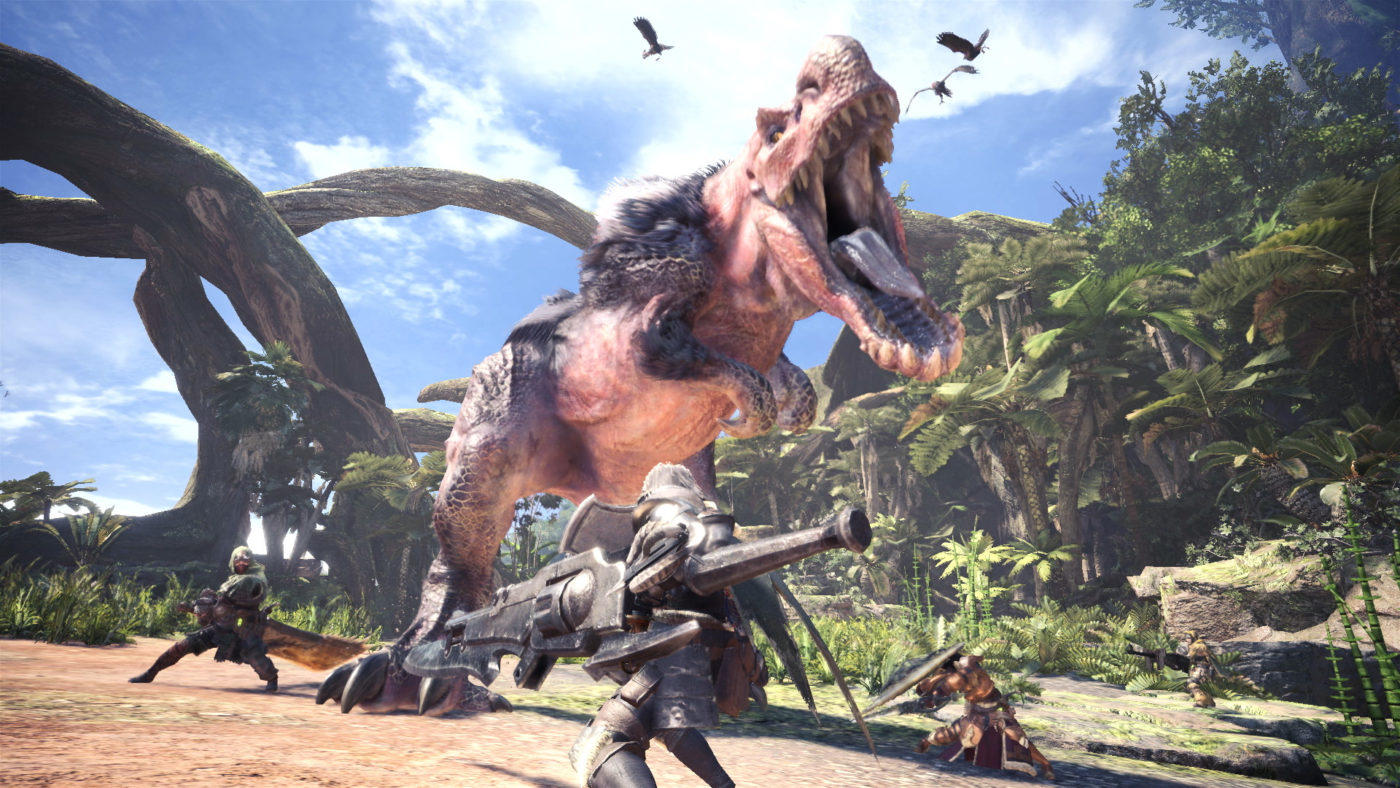 monster hunter world assassins creed crossover
