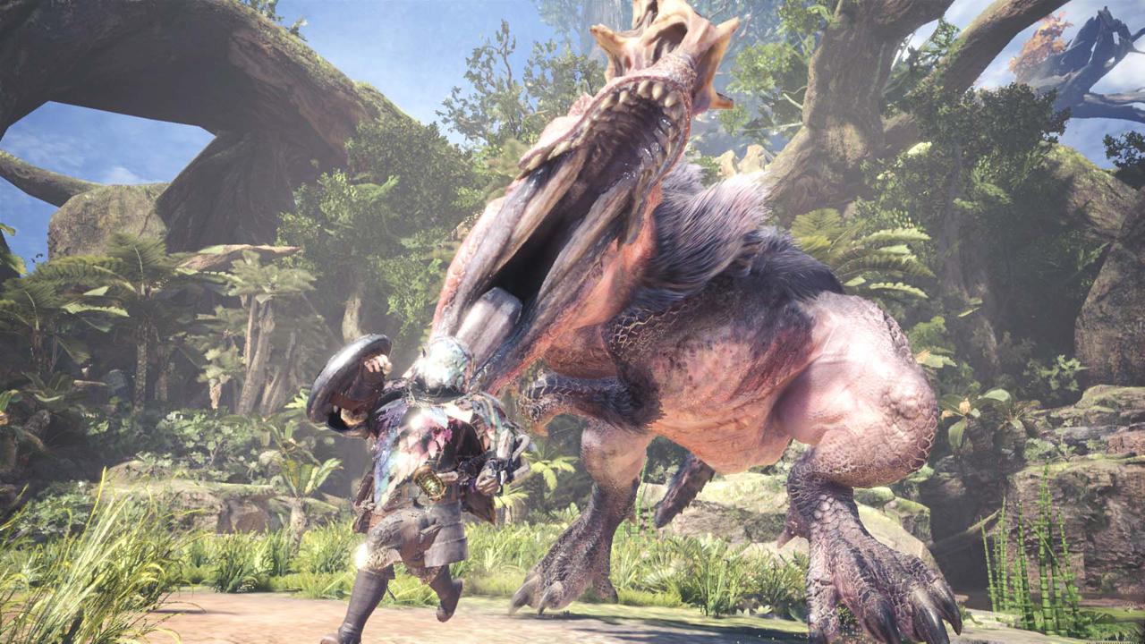 monster hunter world enraged