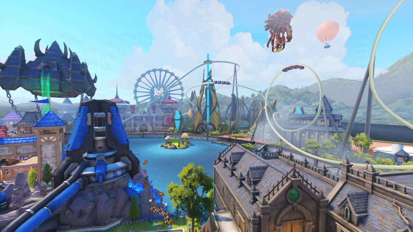 Blizzard Aims To Release New Overwatch Blizzard World Map More