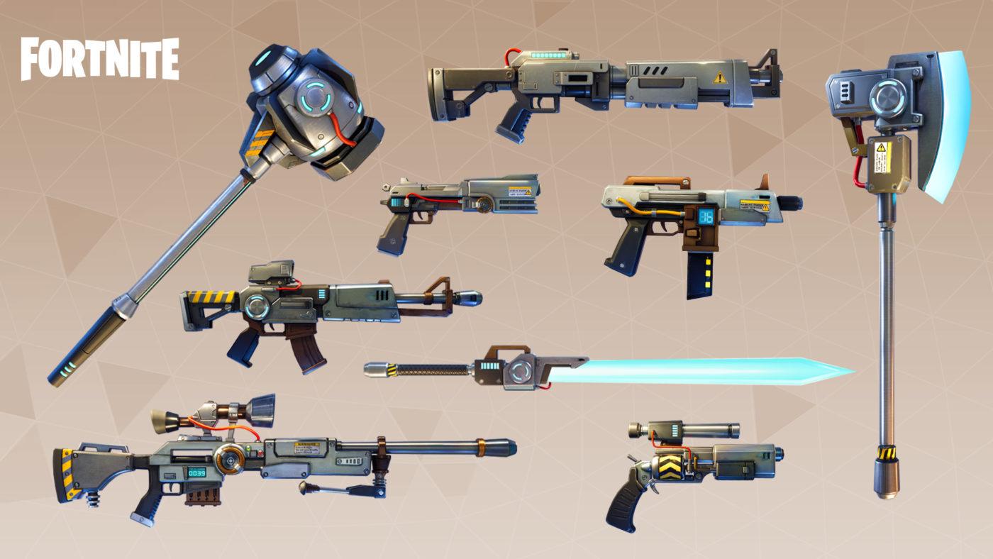 Fortnite Minigun Update Time