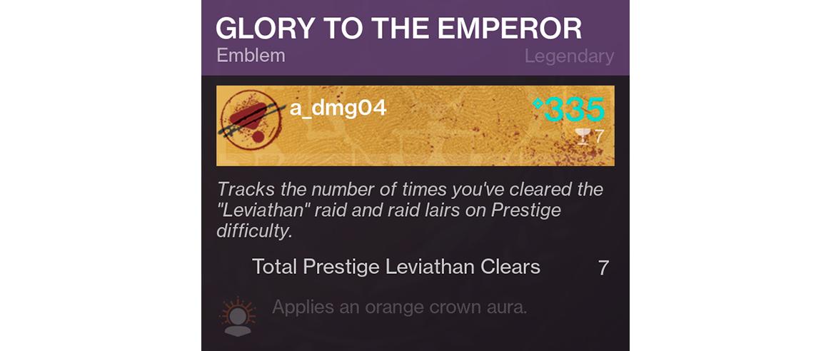 New Destiny 2 Emblems