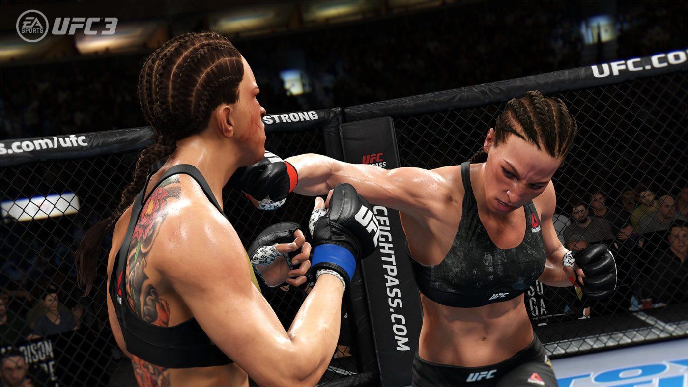 UFC 3 Game Face