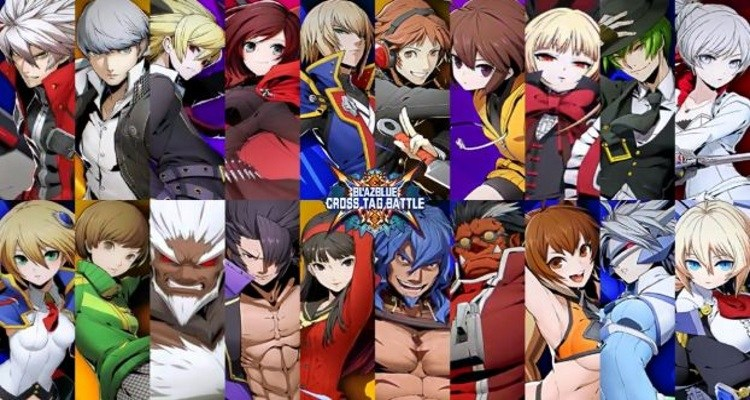 blazblue cross tag battle roster