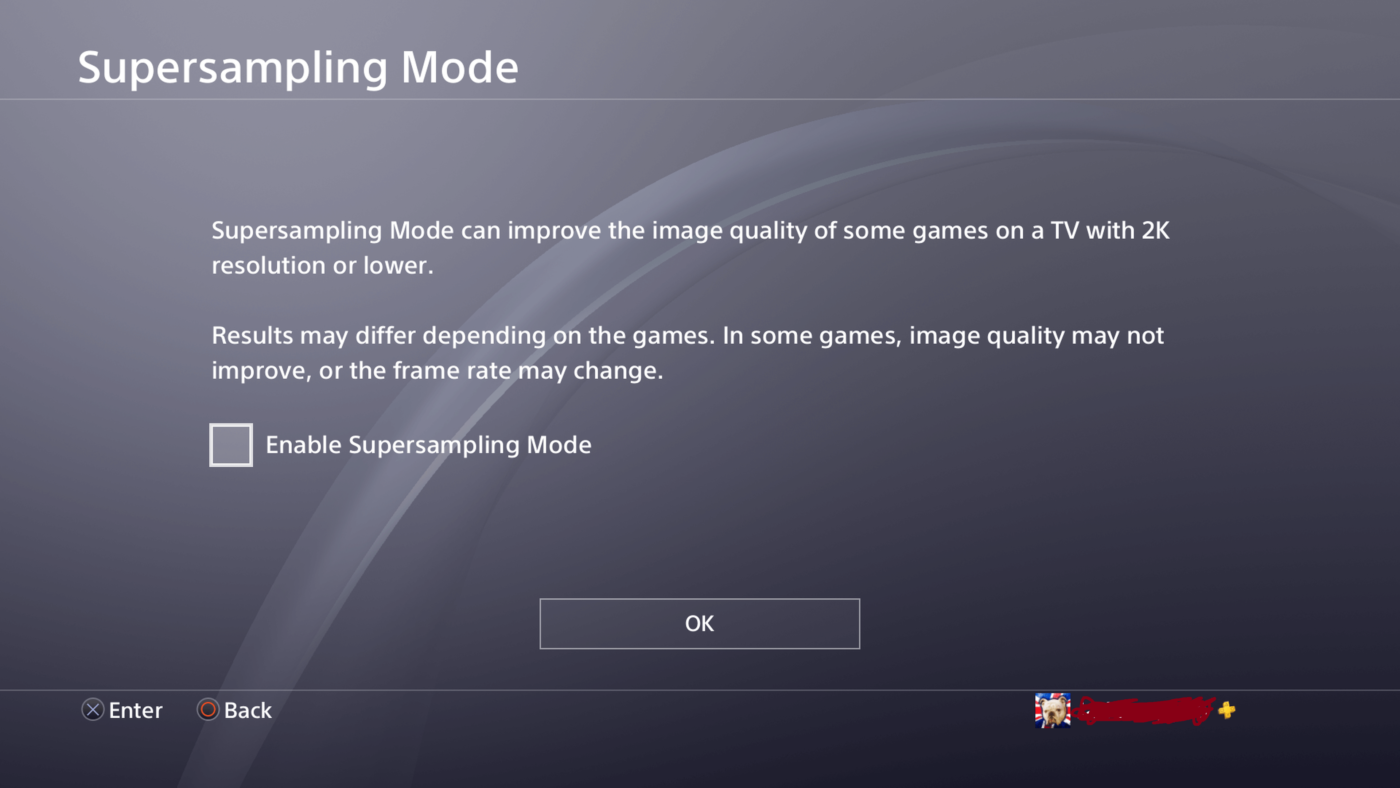 ps4 5.50, PS4 5.50 Features: PS4 Update 5.50 System-Wide Supersampling, Additional Privacy Options & More, MP1st, MP1st