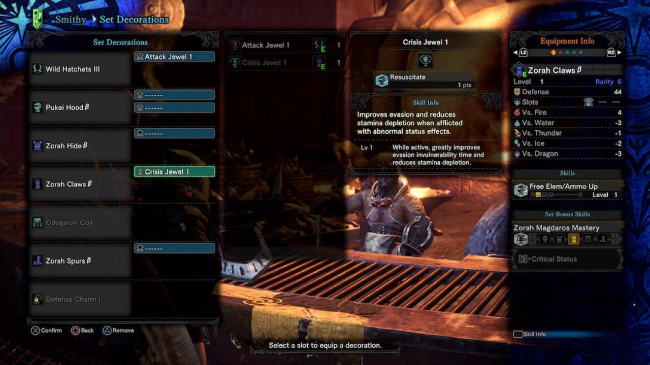 Monster Hunter World Decorations Bug Will Crash the Game