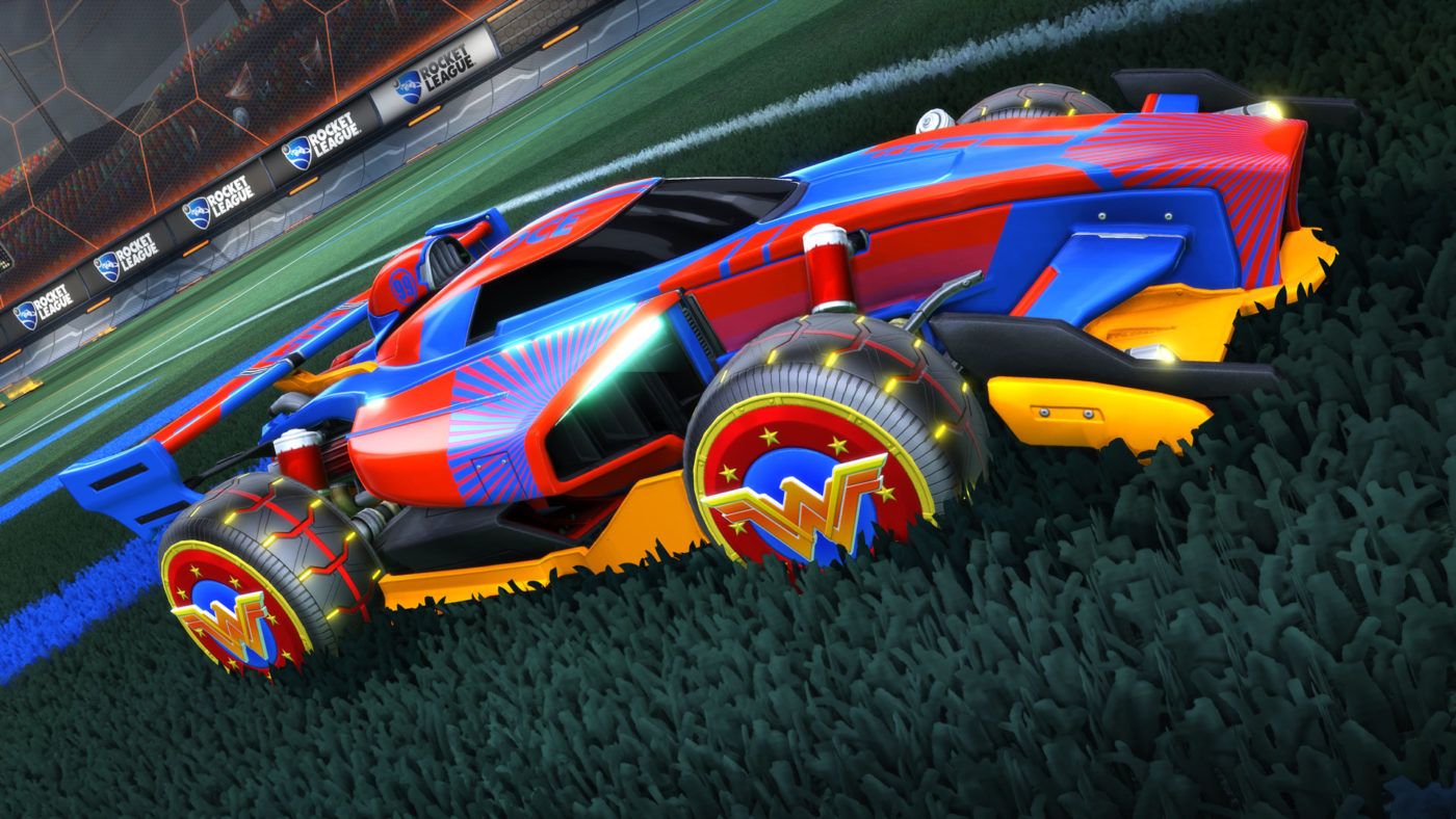 rocket league dc dlc