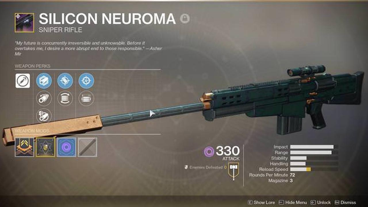 Destiny 2 Silicon Neuroma