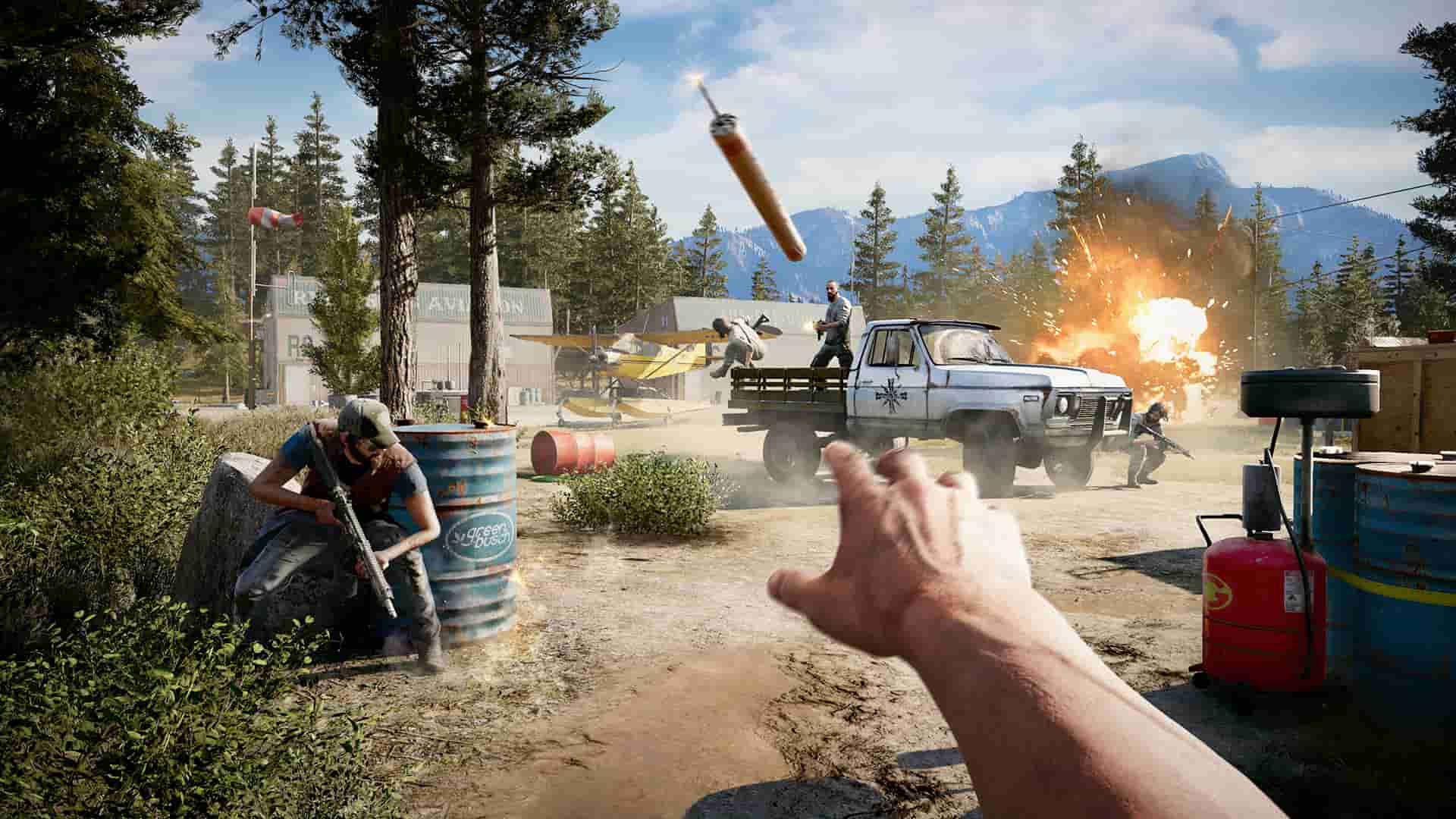 Far Cry 5 Arcade Lets Players Make and Play Custom Maps