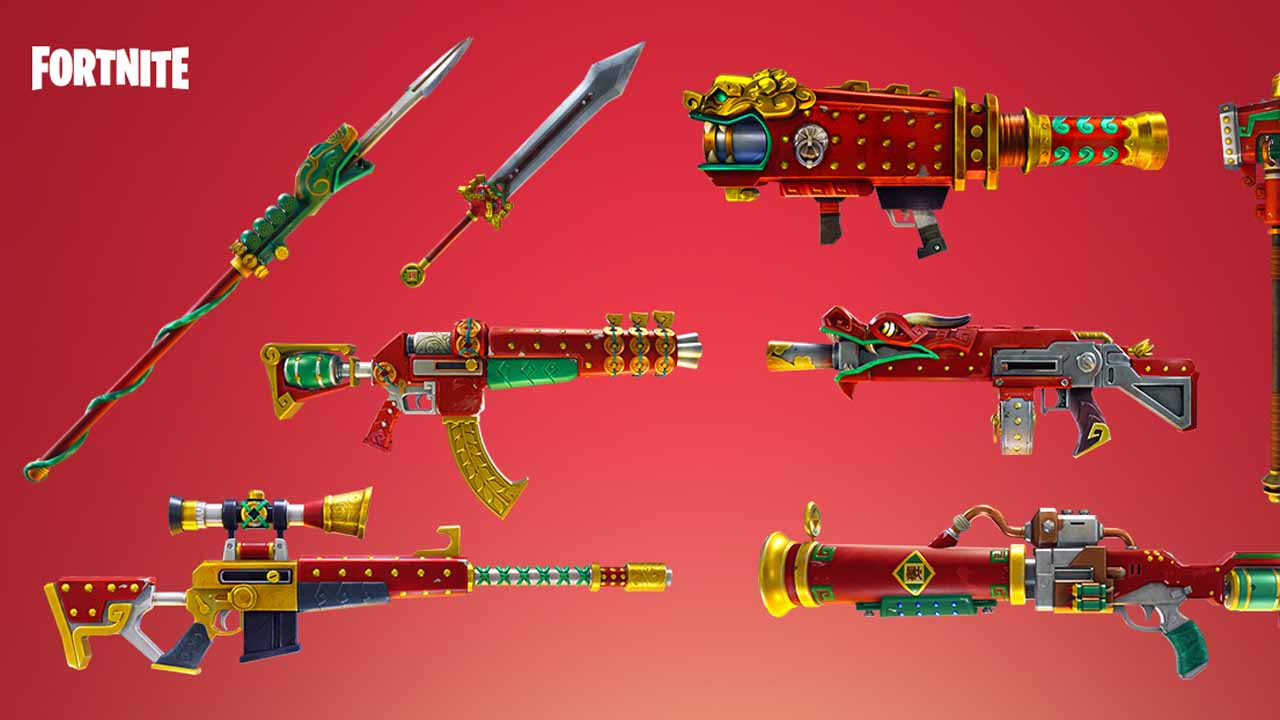 Epic Games Talks Fortnite Dragon Weapons, Critical Chance Perks & More