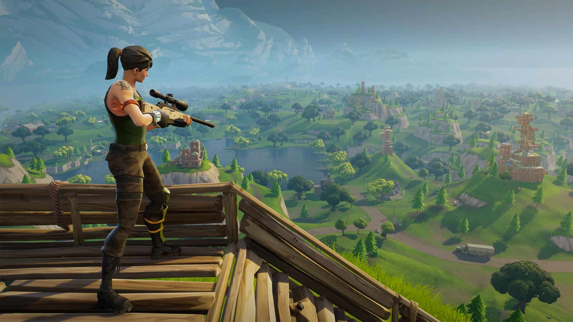 Fortnite PS4 and Xbox One Crossplay