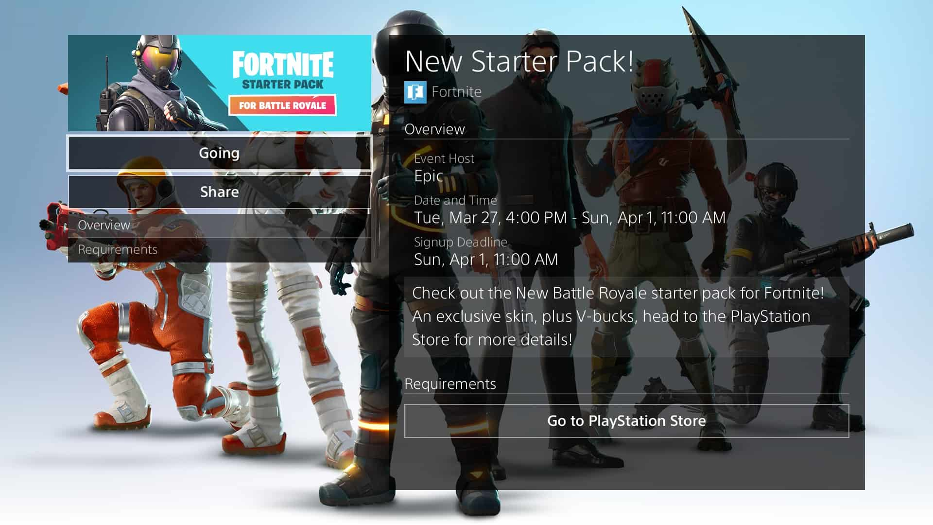 Fortnite Starter Pack Release Date