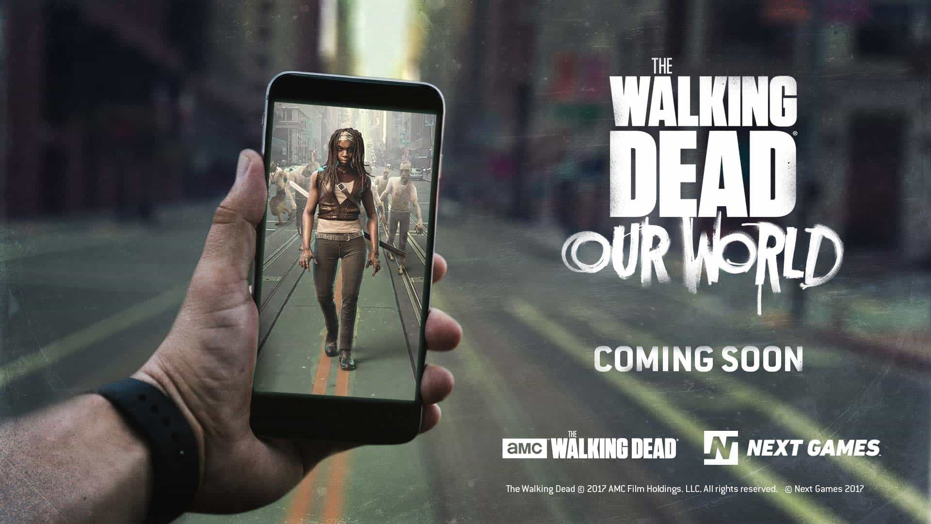 The Walking Dead Our World gameplay