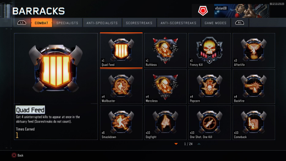 Call of Duty: Black Ops 3 Quad Feed Medal Changed by Treyarch to Show Black Ops IIII Logo