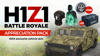 "h1z1 f2p, H1Z1 Going Free to Play on Steam, ""Appreciation Pack"" Rewarded for Buyers, MP1st, MP1st"