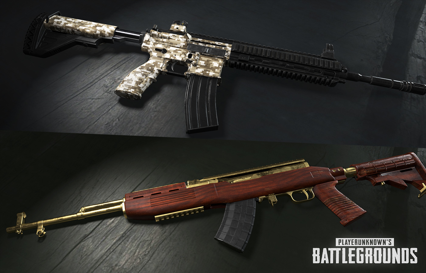 pubg weapons