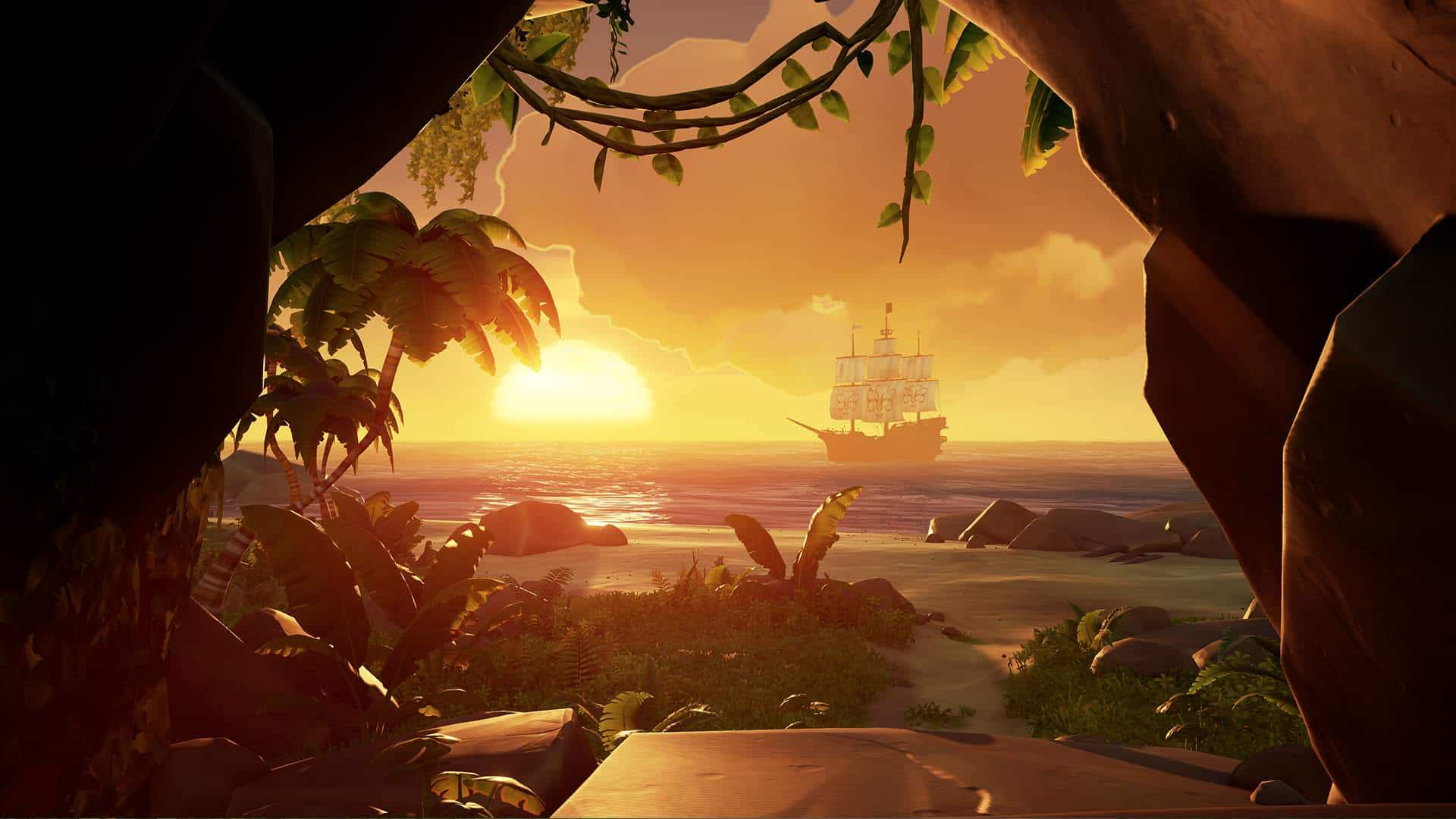 Sea of Thieves working on