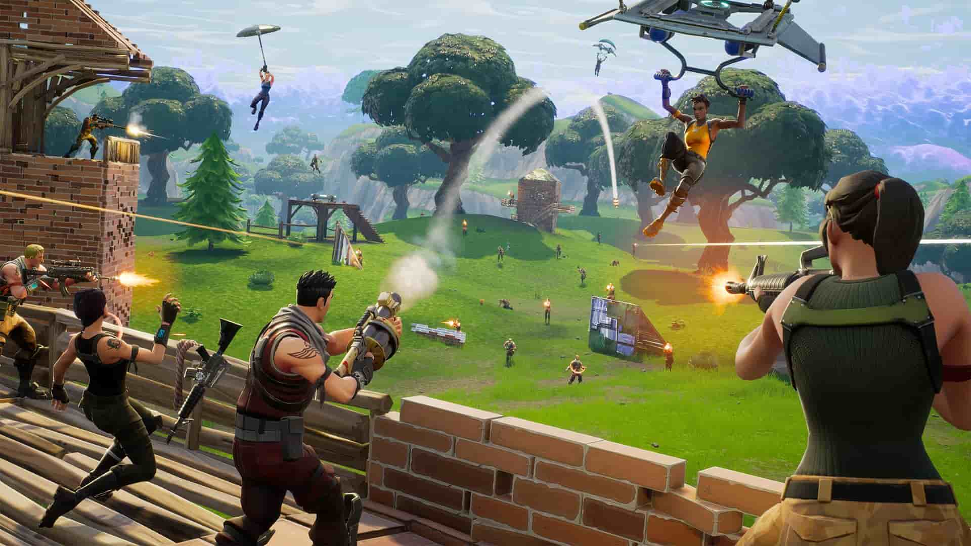 Legendary gold pump shotgun SPAS-12 lands in Fortnite 6.31 update