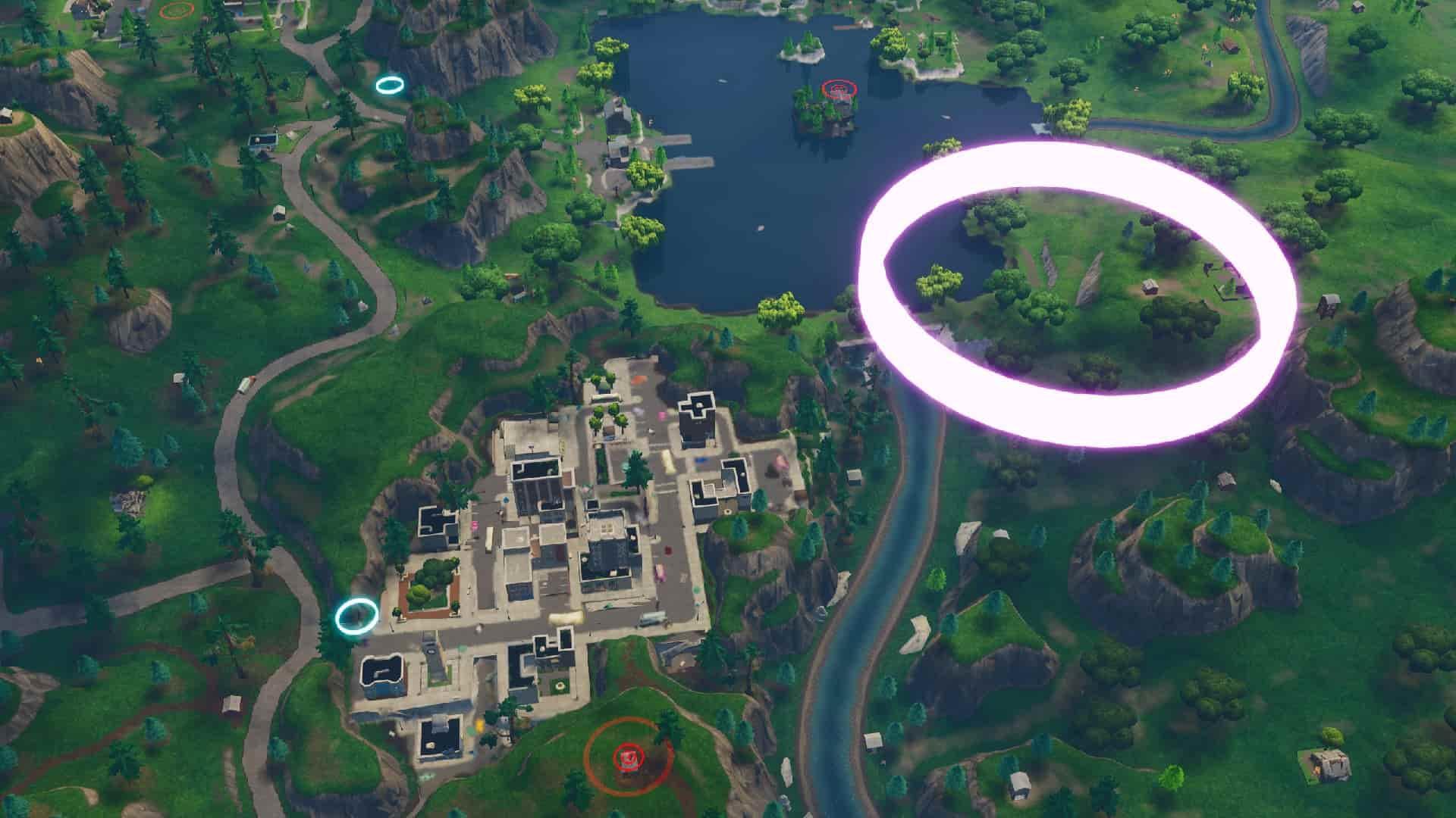 Fortnite Skydive Through Rings