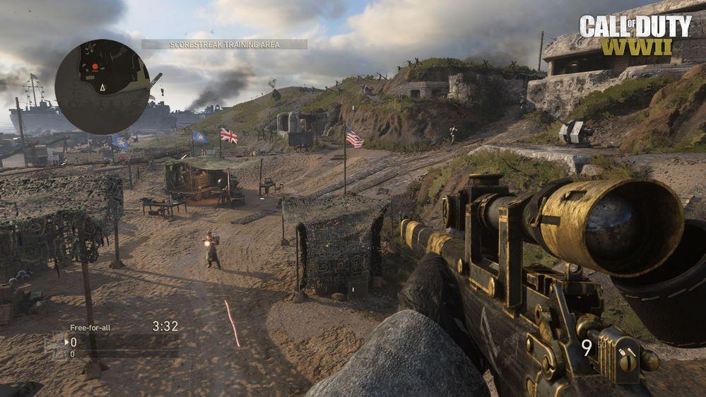 CoD WW2 Ground War