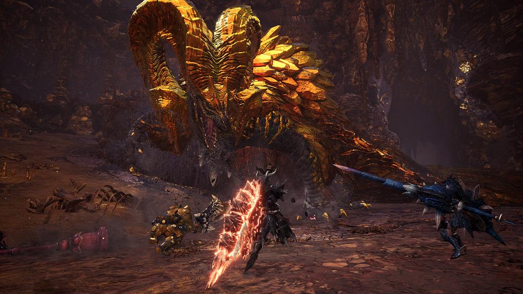 monster hunter world update 3.00
