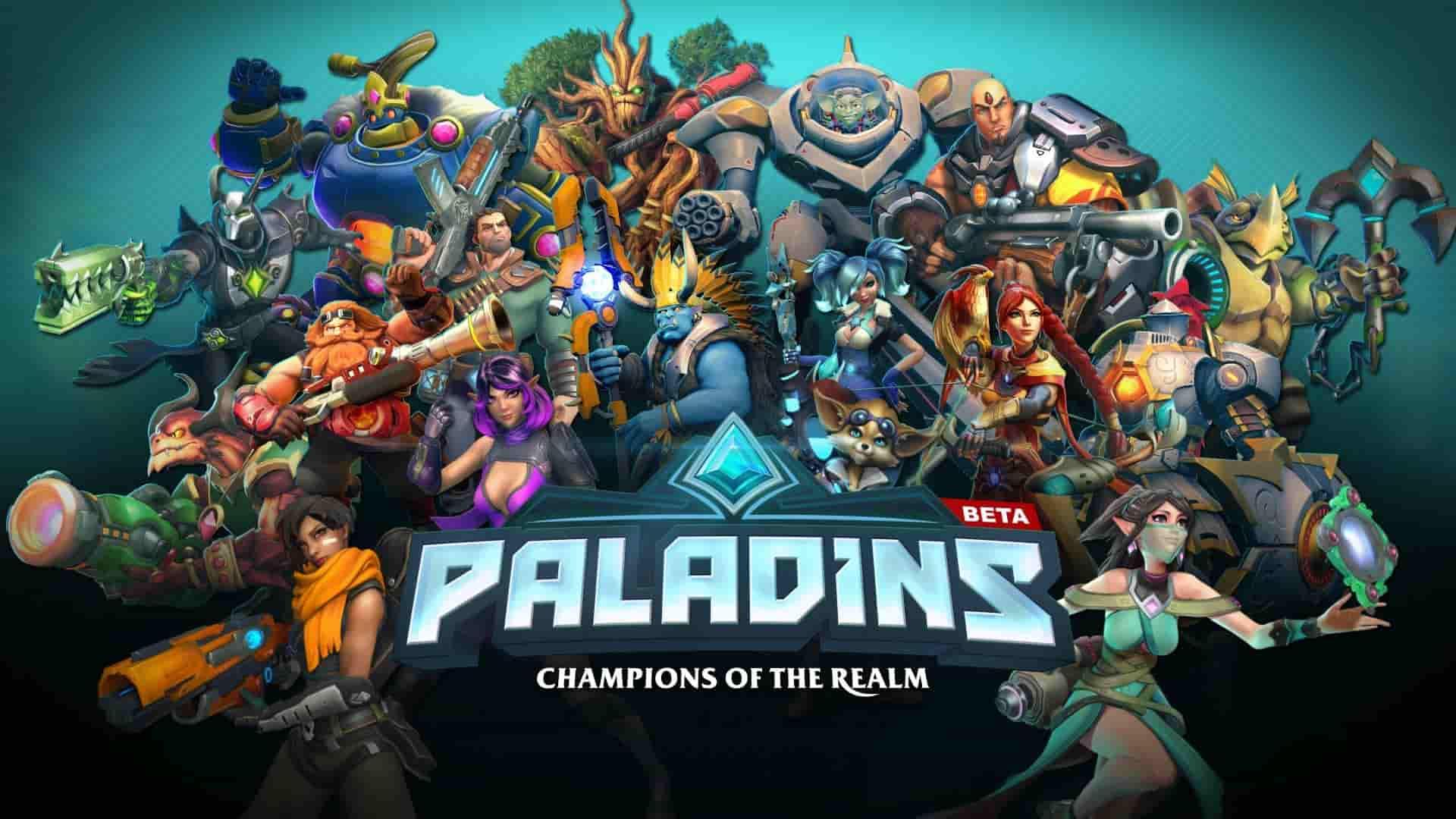 Paladins Update 2.23 August 12