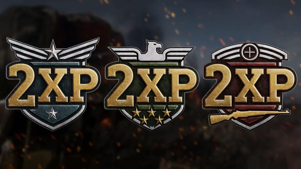 cod ww2 double XP