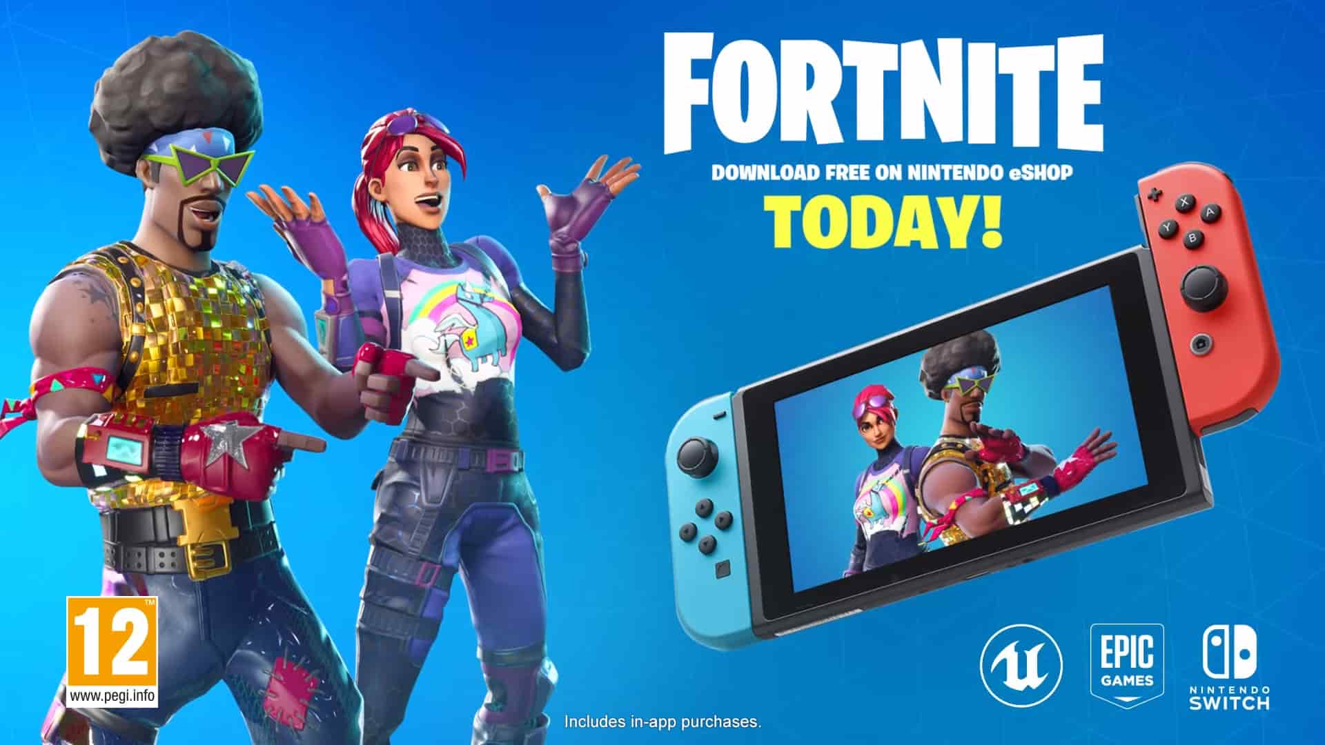 Fortnite Switch Download Now Live... But There's a Big Problem