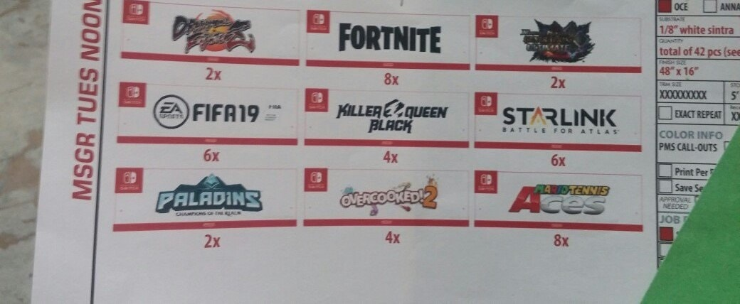 Fortnite Switch, Report: Fortnite Switch Appears on Leaked E3 Pamphlet, MP1st, MP1st