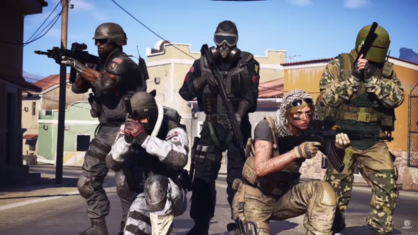 ghost recon wildlands rainbow six siege dlc