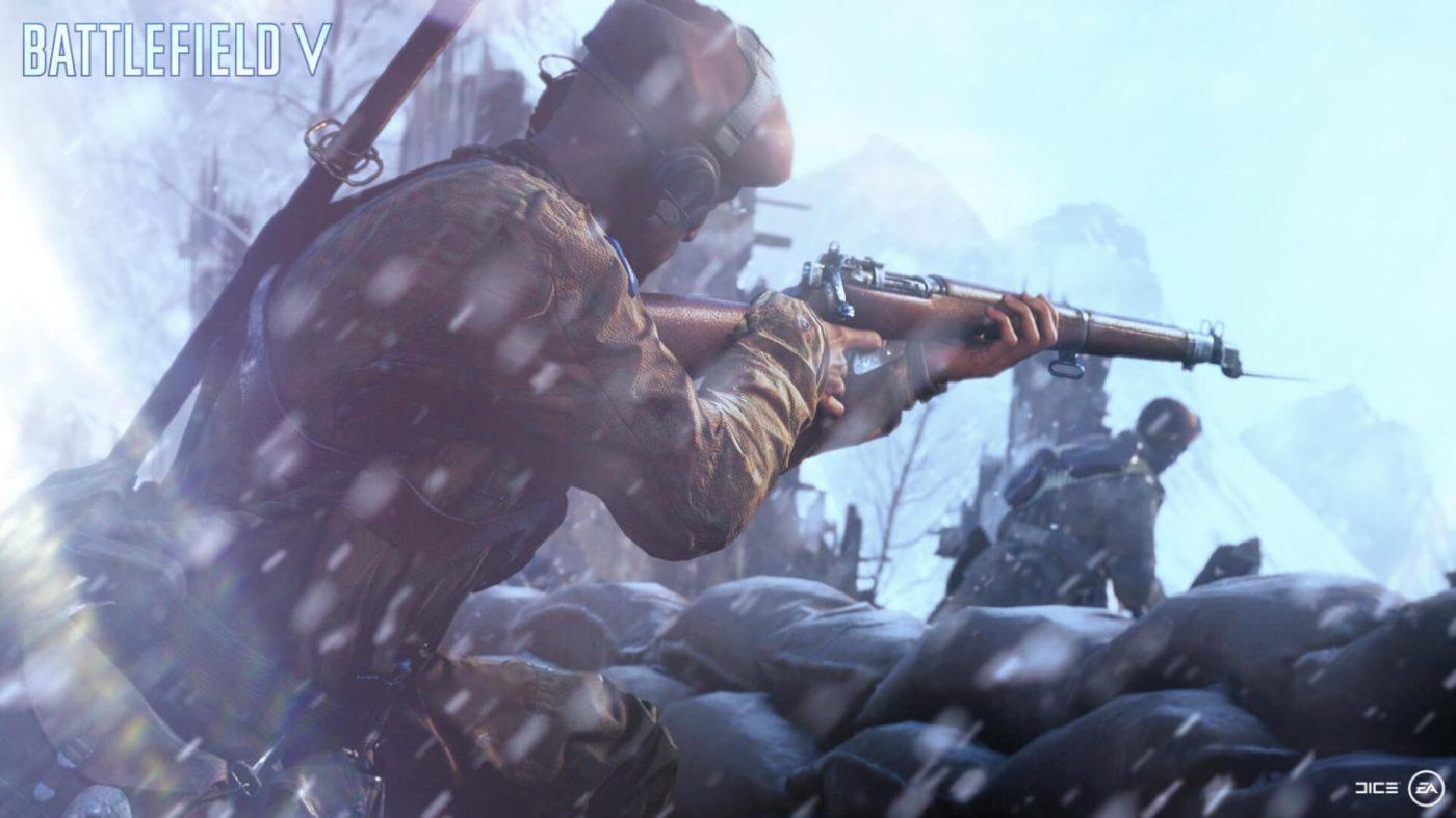 battlefield 5 beta guns