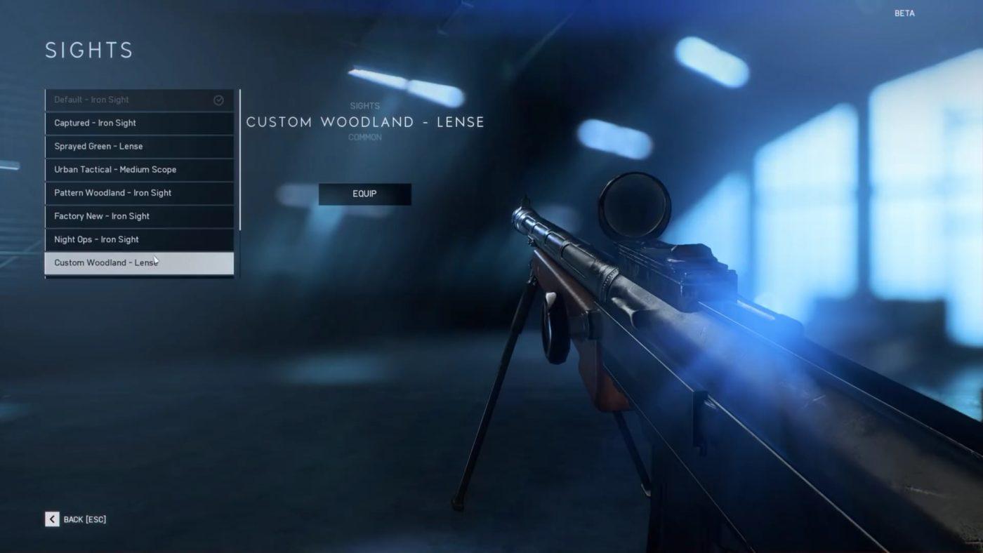 battlefield 5 gun customization, Battlefield V Gun Customization Detailed in New Images, MP1st, MP1st