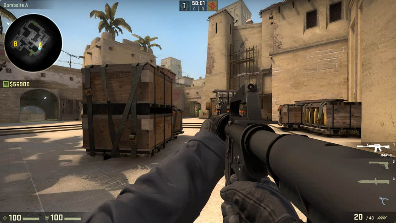 CS GO Free for Offline Play Along With GOTV on Steam
