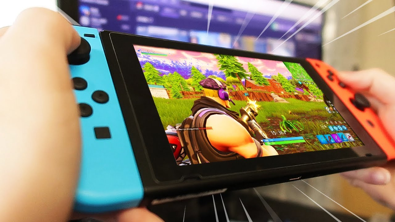 Fortnite Nintendo Switch vs Android (Samsung S9) Shows Us a Clear Winner