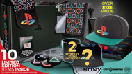 playstation collectors box, GameStop Is Selling a PlayStation Collector's Box, Here's What's in It, MP1st, MP1st