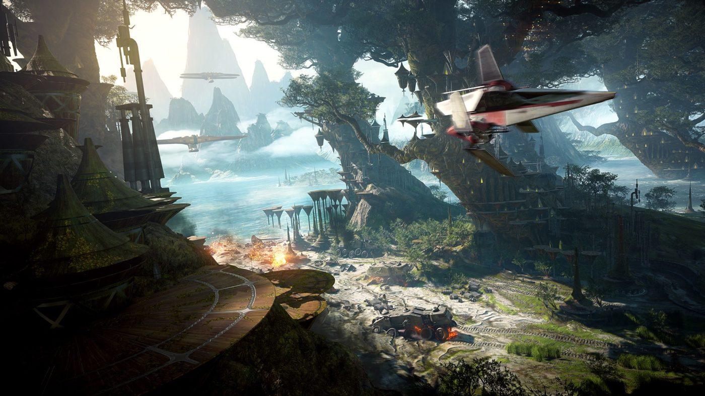 Star War Battlefield 2 screen