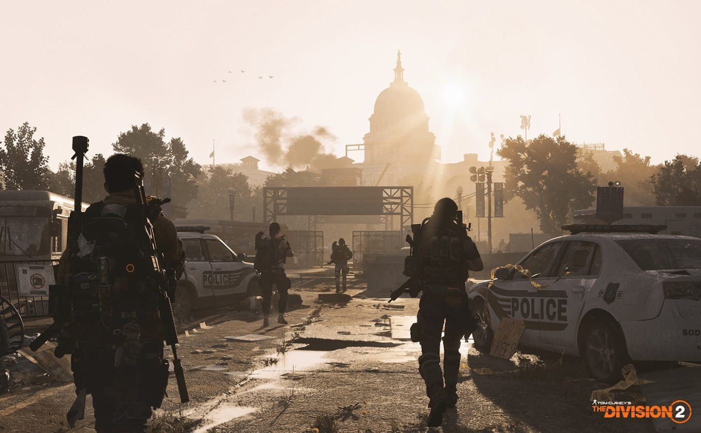 The Division 2 open beta was seemingly revealed on a livestream