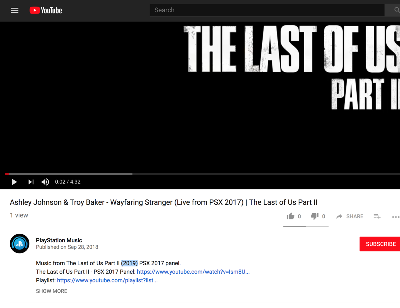 the last of us 2 release date, Report: The Last of Us 2 Release Date Set for 2019 According to Official PlayStation Music Channel, MP1st, MP1st