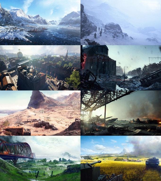 battlefield 5 maps
