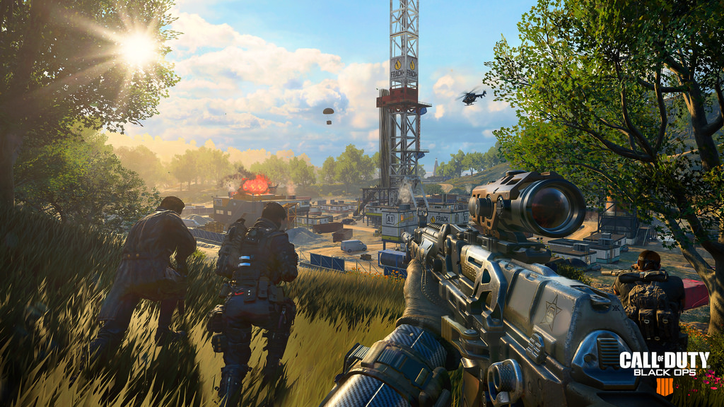 black ops 4 blackout zombies