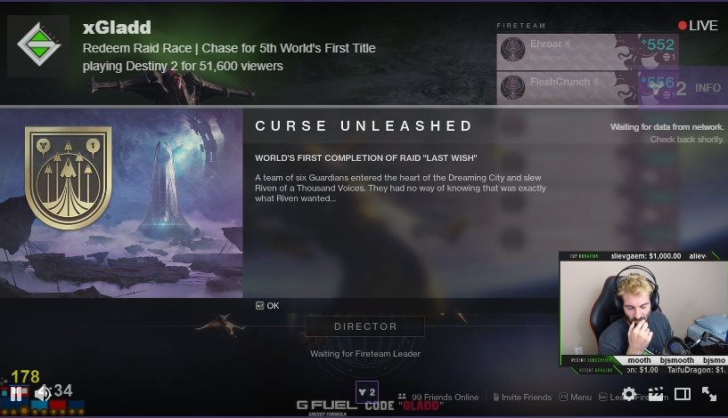 destiny 2 last wish raid rewards, Destiny 2 the Last Wish World First Raid Winners Confirmed, Completion Changes the Game for Everyone!, MP1st, MP1st