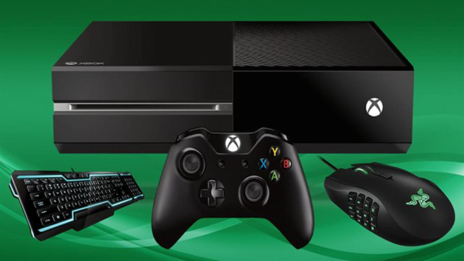 xbox one mouse and keyboard support