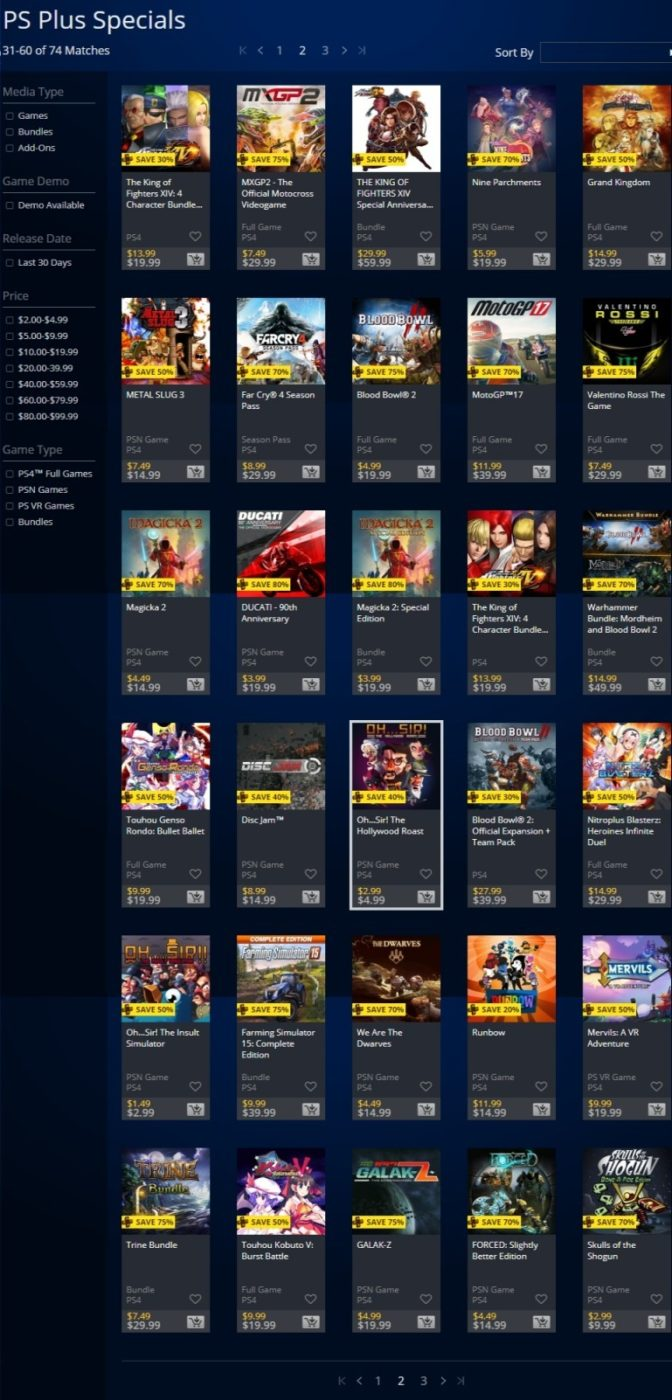 """psn store sale, PSN Store Sale for the Week Called """"PS Plus Specials"""" and It's Live, Here Are the Discounted Games, MP1st, MP1st"""