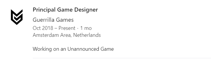 new killzone game, Guerrilla Games Makers of Killzone, Are Hiring Rainbow Six Siege Developers for an Untitled Project, MP1st, MP1st