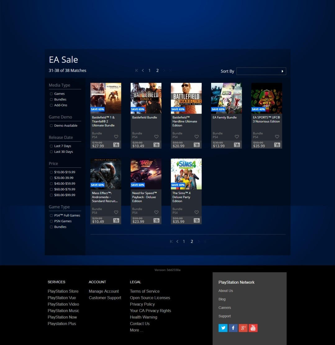 """PS Store sale, PS Store Sale for the Week Is the """"EA Sale"""" and It's Now Live, Here Are the Deals, MP1st, MP1st"""