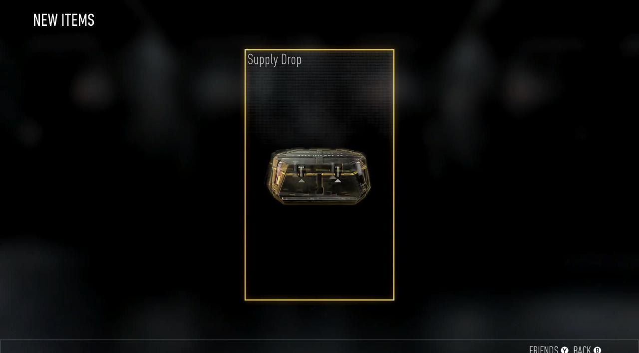 black ops 4 supply drops