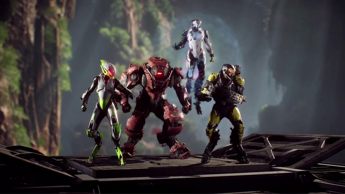 anthem customization