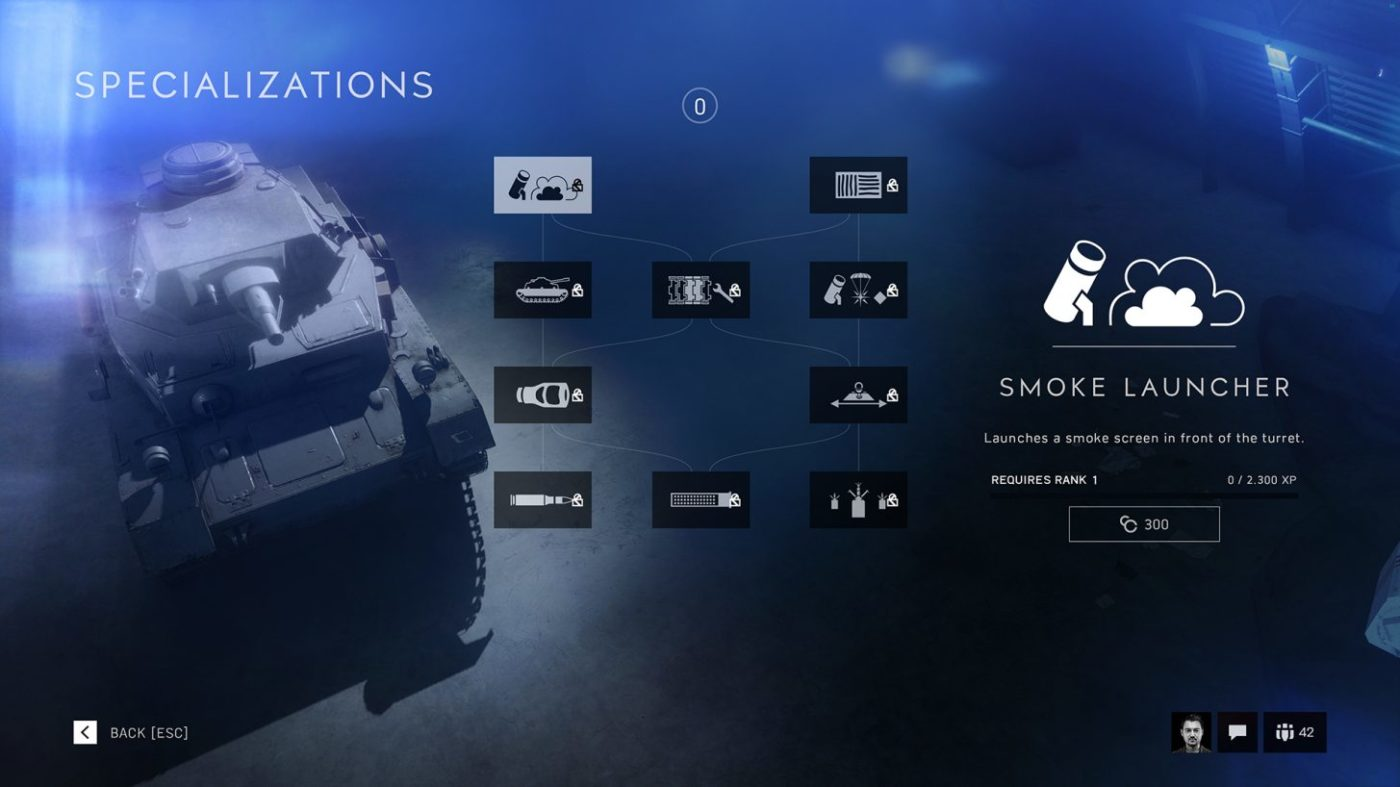 Battlefield 5 Vehicle Specializations Detailed, Vehicle Cosmetics Coming Post-Launch, Battlefield V Vehicle Specializations Detailed, Vehicle Cosmetics Coming Post-Launch, MP1st, MP1st
